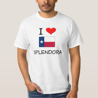 I Love Splendora Texas T-Shirt