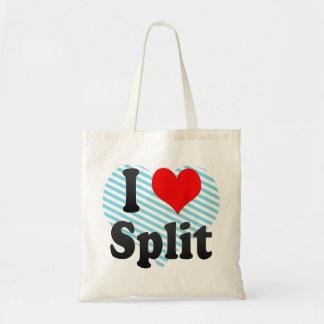 I Love Split, Croatia Canvas Bag