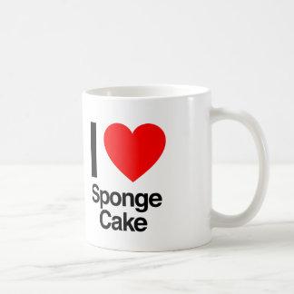 i love sponge cake coffee mug
