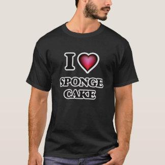 I Love Sponge Cake T-Shirt