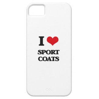 I love Sport Coats iPhone 5 Cases