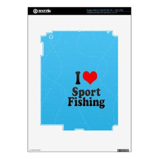 I love Sport Fishing Skins For iPad 3