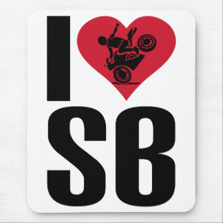 I love sportbikes! mouse pad