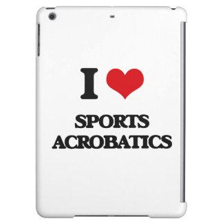 I Love Sports Acrobatics iPad Air Covers