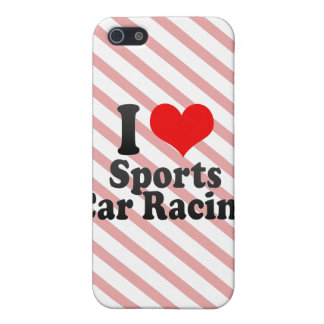 I love Sports Car Racing iPhone 5 Cases