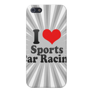 I love Sports Car Racing Covers For iPhone 5
