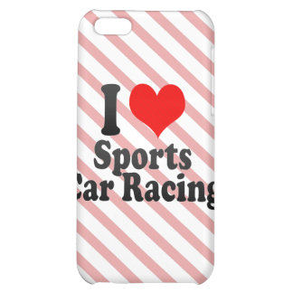 I love Sports Car Racing iPhone 5C Cover