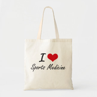 I love Sports Medicine Tote Bag