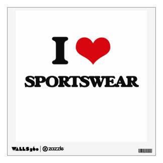 I love Sportswear Room Stickers