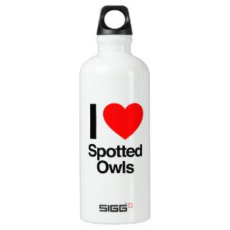 i love spotted owls SIGG traveler 0.6L water bottle