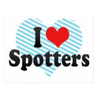 I Love Spotters Postcard