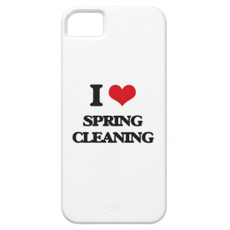 I love Spring Cleaning iPhone 5 Cases