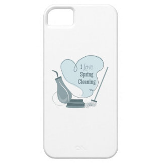 I Love Spring Cleaning iPhone 5 Cover