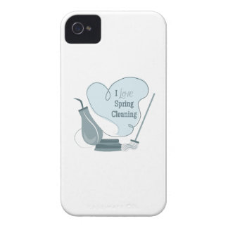 I Love Spring Cleaning iPhone 4 Case