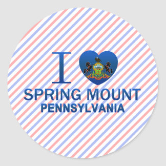 I Love Spring Mount, PA Stickers