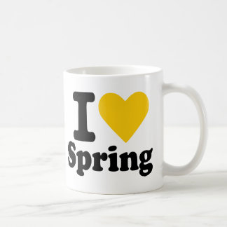 I love spring mugs