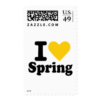 I love spring postage stamps