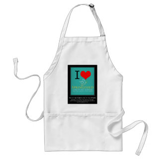 I Love Springfield Christian School Adult Apron