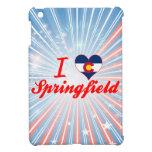 I Love Springfield, Colorado iPad Mini Cover