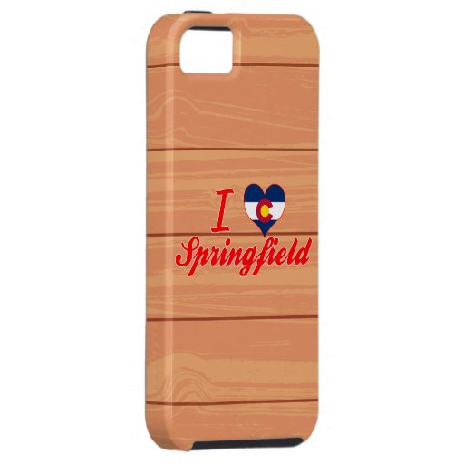 I Love Springfield, Colorado iPhone 5 Cover