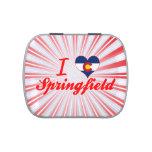 I Love Springfield, Colorado Jelly Belly Candy Tin