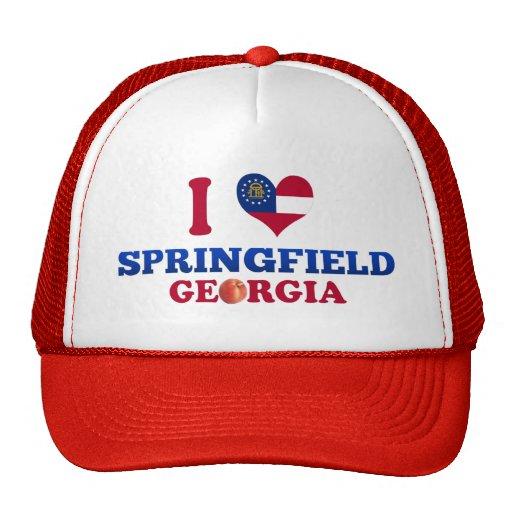 I Love Springfield, Georgia Trucker Hat