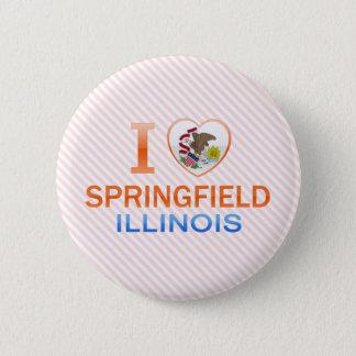 I Love Springfield, IL Button