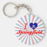 I Love Springfield, Louisiana Key Chain