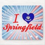 I Love Springfield, Louisiana Mouse Pad