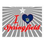 I Love Springfield, Mainea Postcards