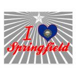 I Love Springfield, New Hampshire Postcards