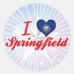 I Love Springfield, New Hampshire Sticker