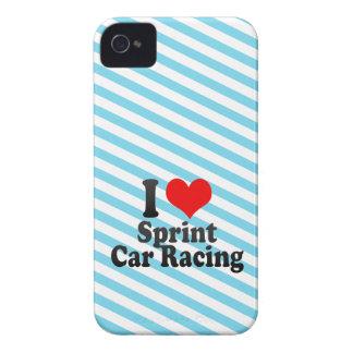 I love Sprint Car Racing iPhone 4 Cases