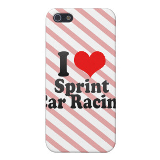 I love Sprint Car Racing Cases For iPhone 5