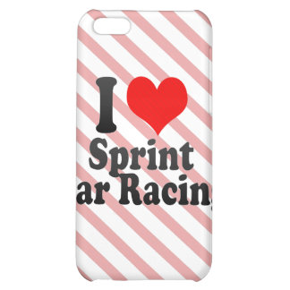 I love Sprint Car Racing Cover For iPhone 5C