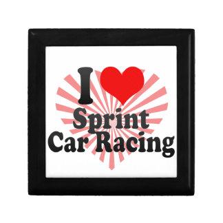 I love Sprint Car Racing Jewelry Box