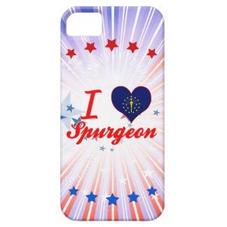 I Love Spurgeon, Indiana iPhone 5 Cases