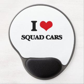 I love Squad Cars Gel Mouse Pad