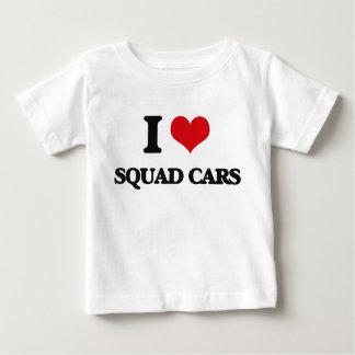 I love Squad Cars Tshirt