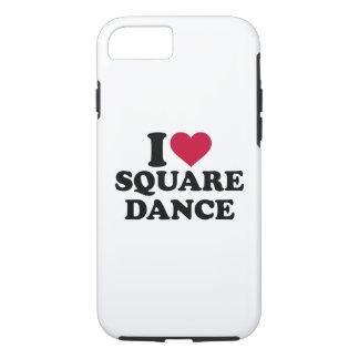 I love square dance iPhone 8/7 case