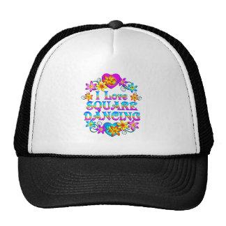 I Love Square Dancing Trucker Hat