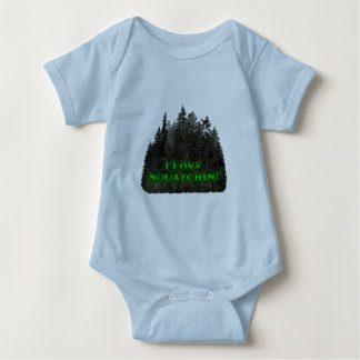 I Love Squatchin! - Clothes Only Baby Bodysuit