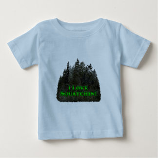I Love Squatchin! - Clothes Only Baby T-Shirt