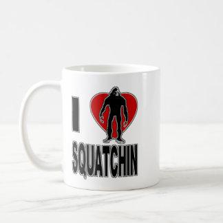 I Love Squatchin! Coffee Mug