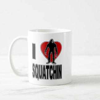 I Love Squatchin Mug