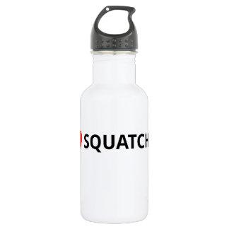 I Love Squatchin' Water Bottle