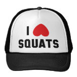 I Love Squats Trucker Hat
