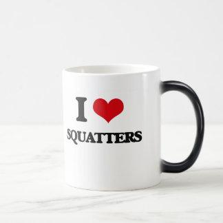 I love Squatters 11 Oz Magic Heat Color-Changing Coffee Mug
