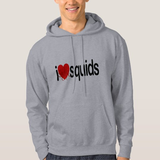 I Love Squids Hoodie
