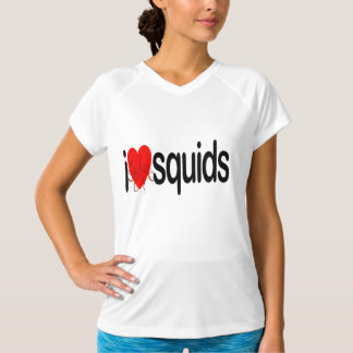 I Love Squids T-Shirt